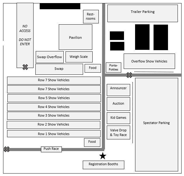 2018 Show Layout