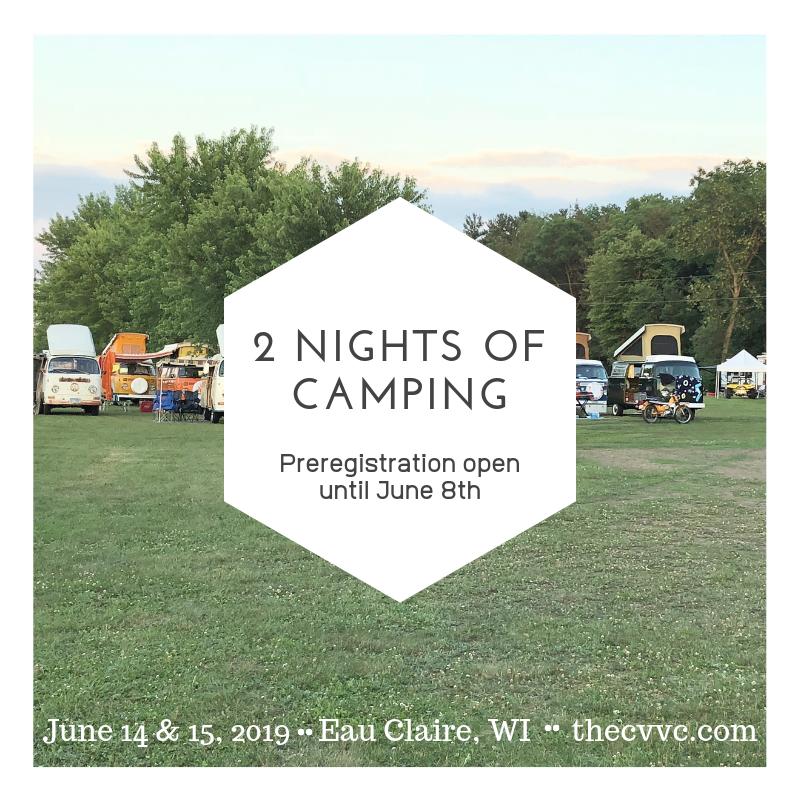 2 nights ofcamping!