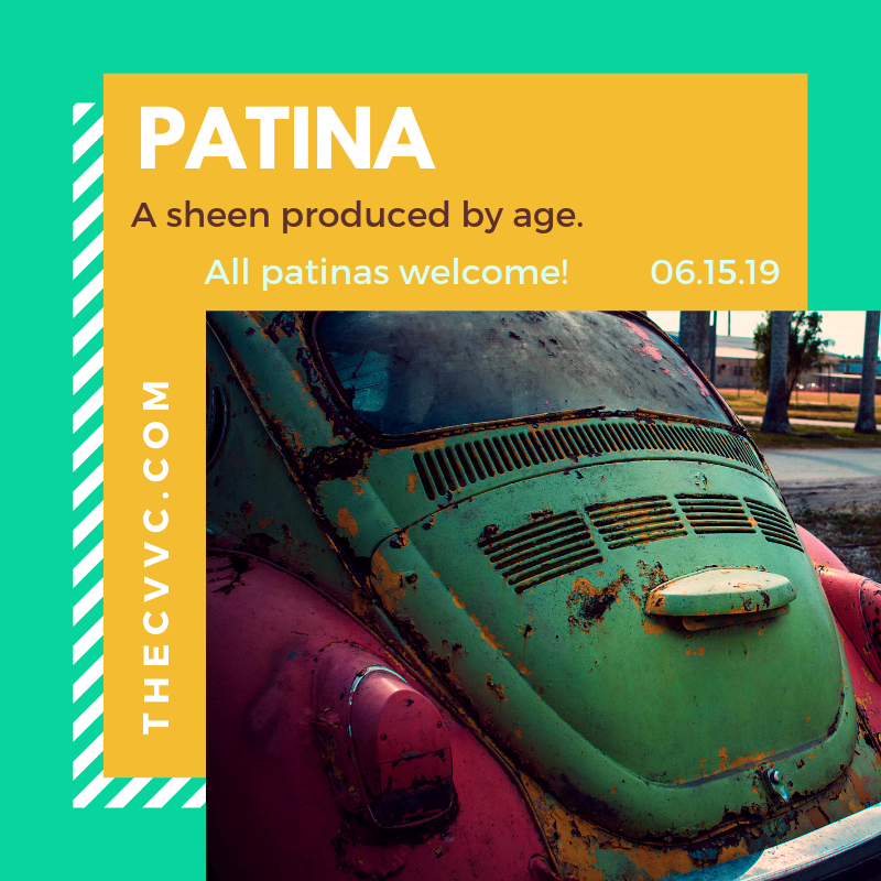 We heart patina.